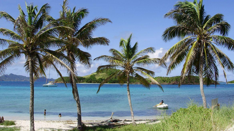 Ilet de Baradal aux Tobago Cays - Grenadines