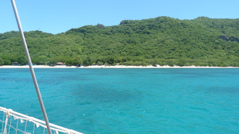 Plage de Chatham Bay à Union - Grenadines