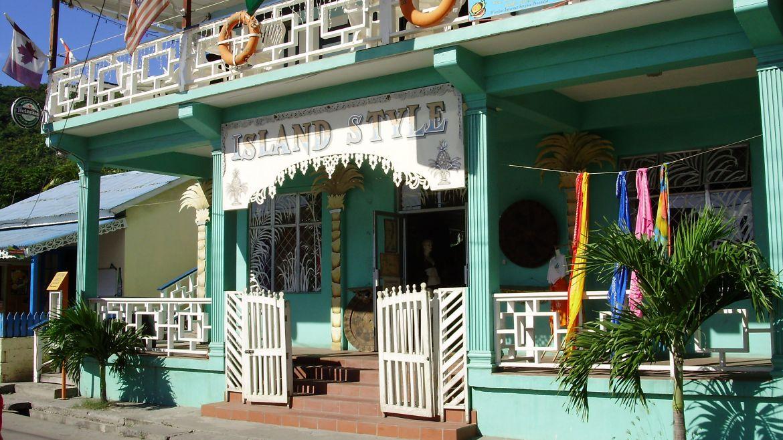 Boutiques à Béquia - Grenadnes