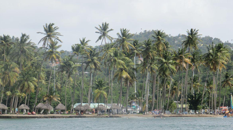 La plage de Marigot Bay