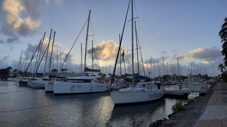 Marina de Bas du Fort, Guadeloupe