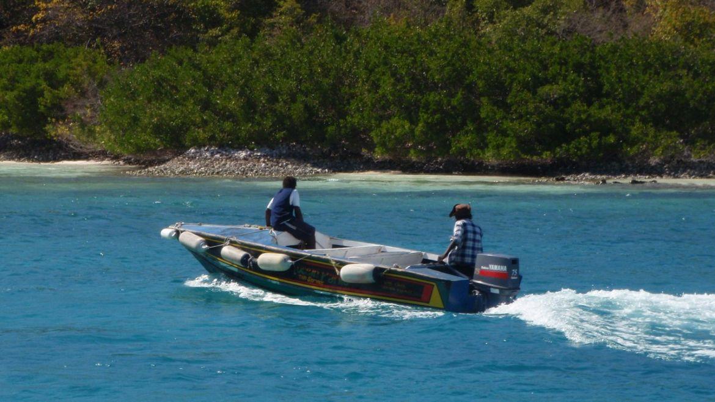 Les Boat-boys des Tobago Cays