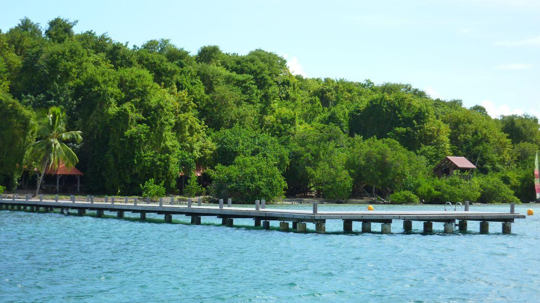Accès îlet Madame, Martinique