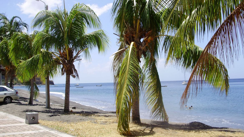 The promenade at Saint-Pierre, Martinique