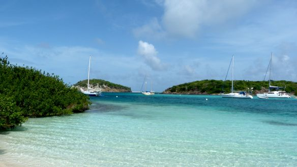 Tobago Cays, a paradise in The Grenadines