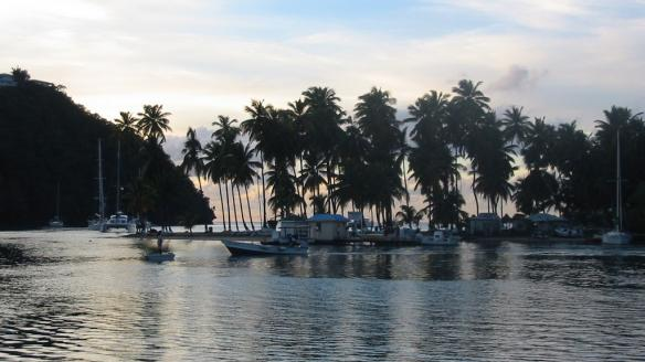Marigot Bay à Sainte Lucie