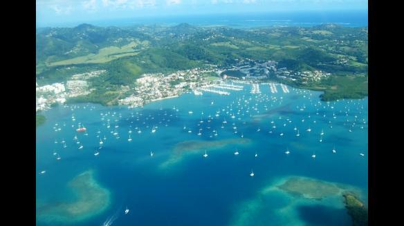 Le port de plaisance du Marin