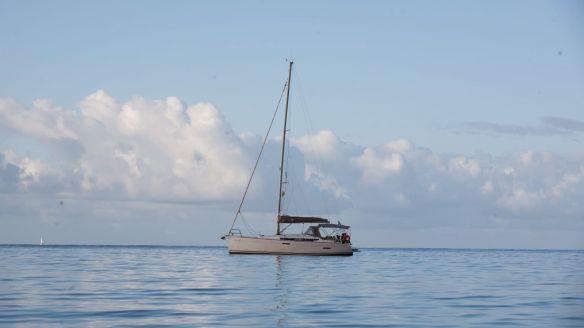 Sun odyssey 389 à louer au départ de Martinique