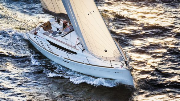 Sun Odyssey 389 en navigation
