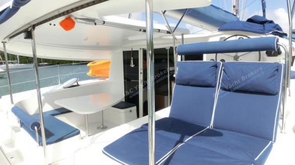 Cockpit et bain de soleil