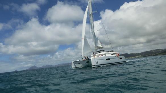 Le saona 47 en navigation