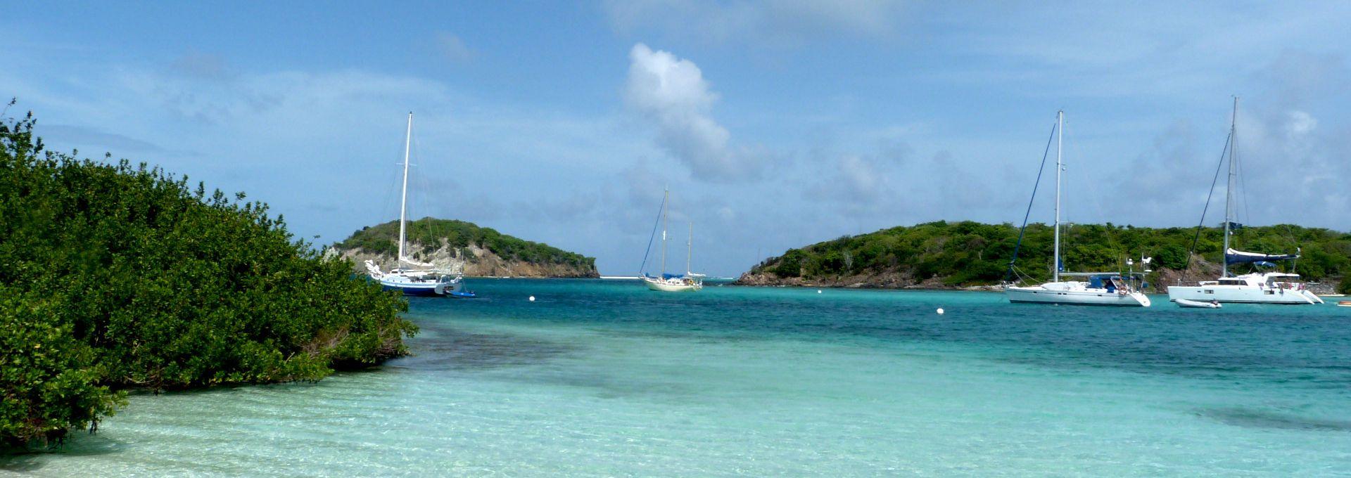 Tobago Cays, paradis des Grenadines