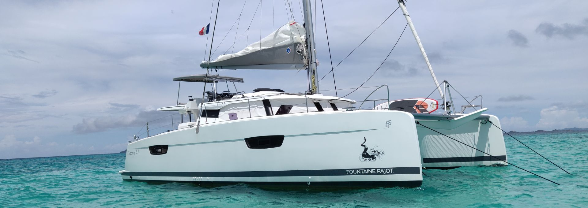 Waouw, Sanoa 47 version propriétaire aux Grenadines