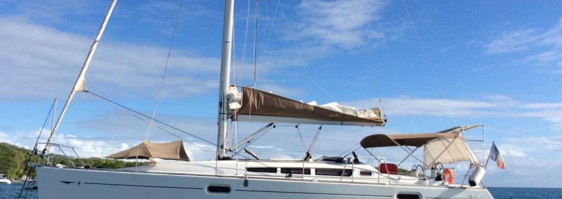 Sun odyssey 42 i à louer au départ de Martinique