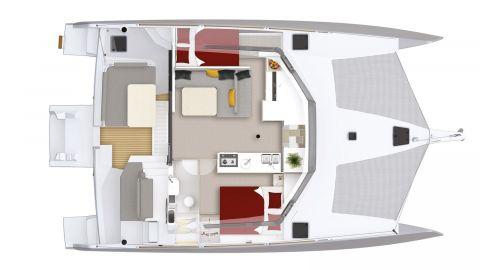 Plan intérieur du NEEL 43